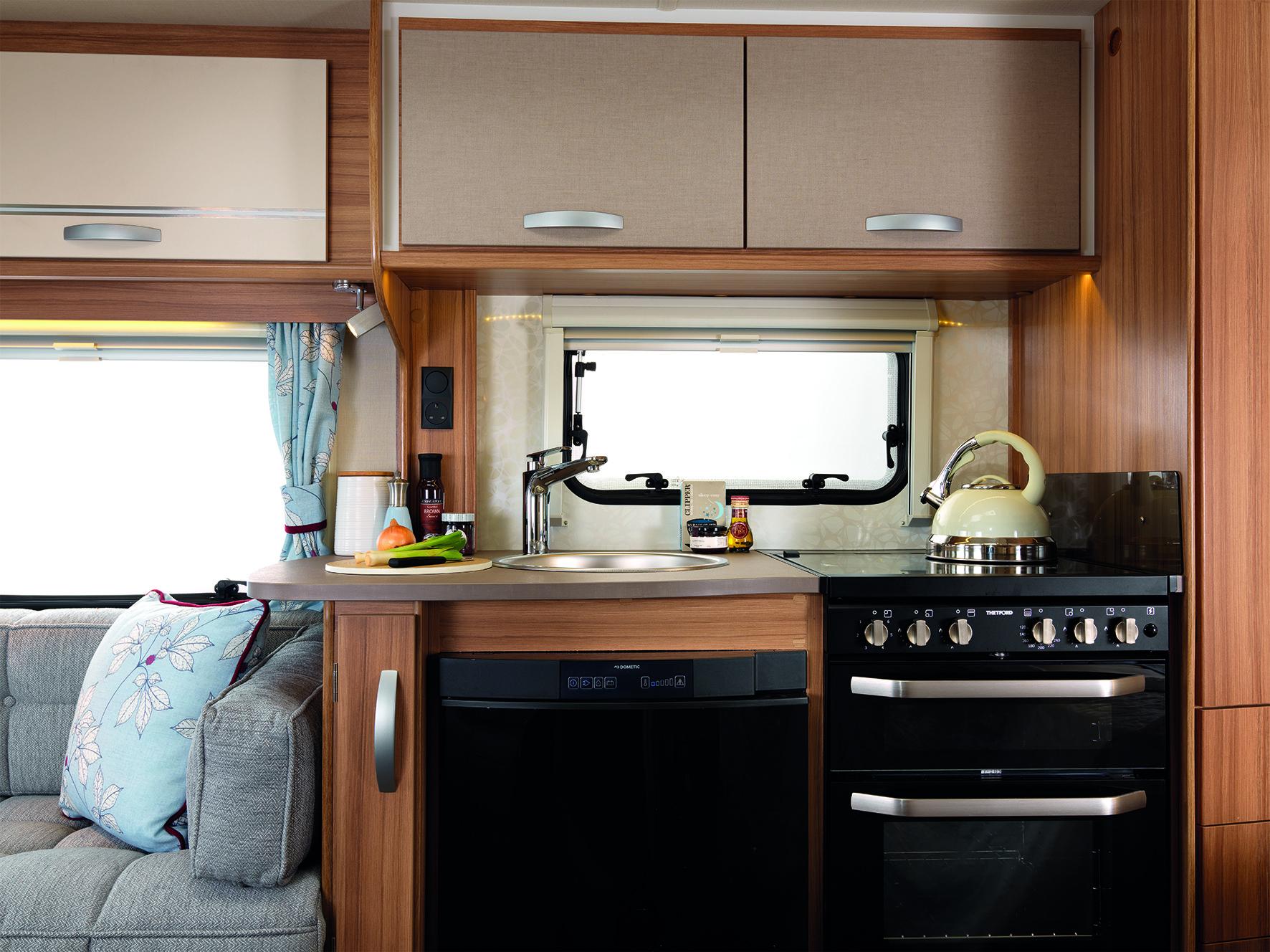 Lunar Caravans Quasar Kitchen