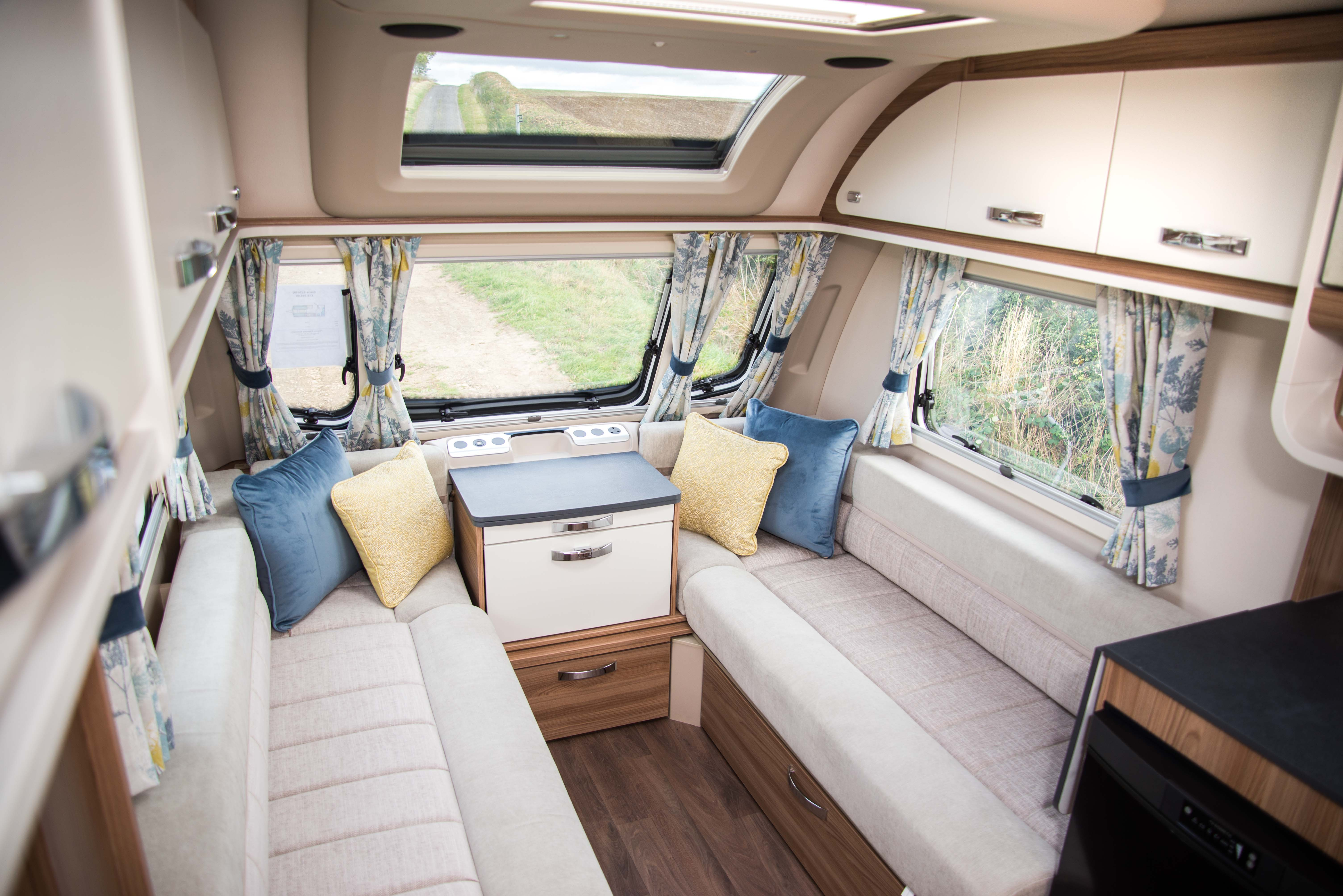 Swift Caravans Siena Front Seating Image