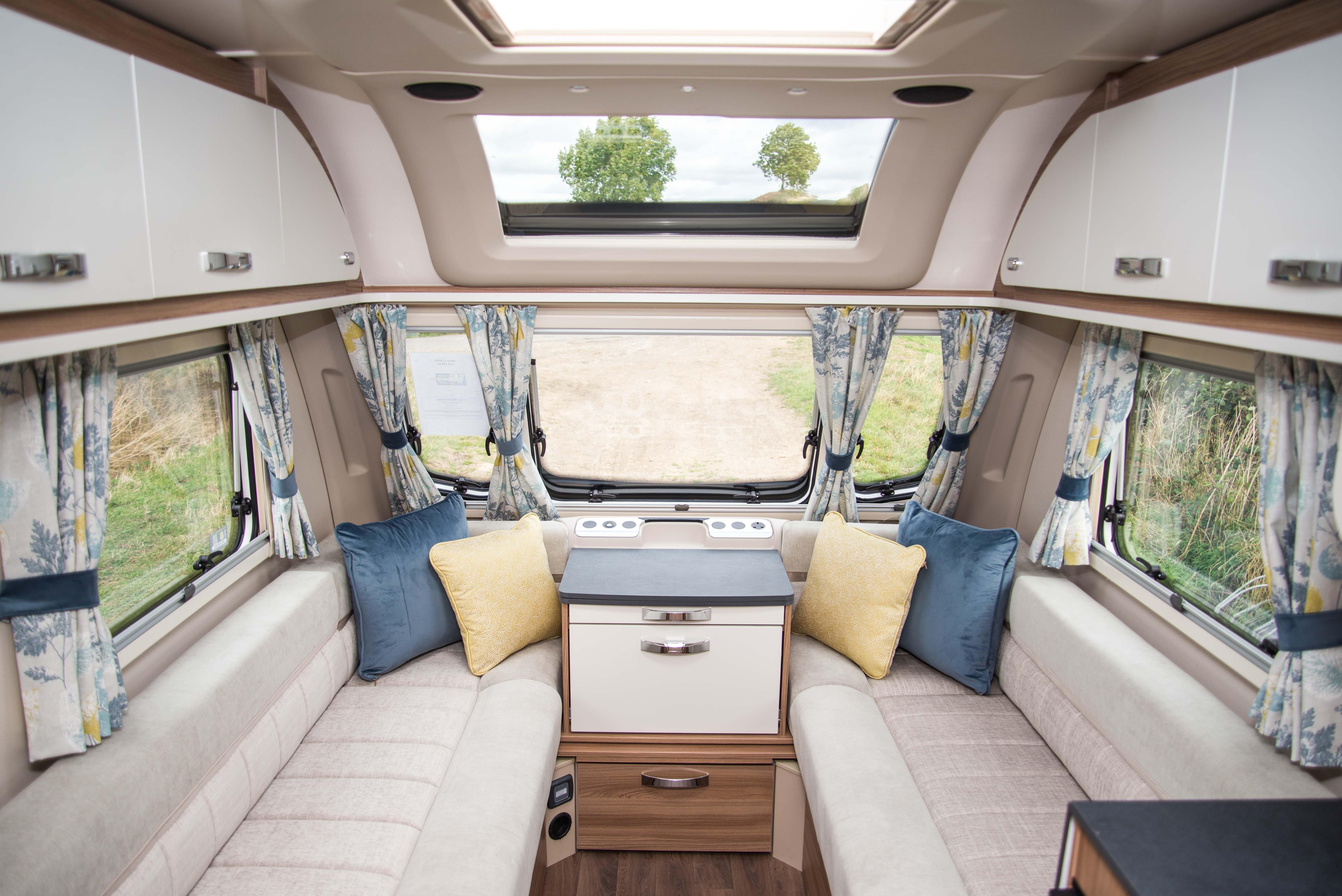 Swift Caravans Siena Internal Image
