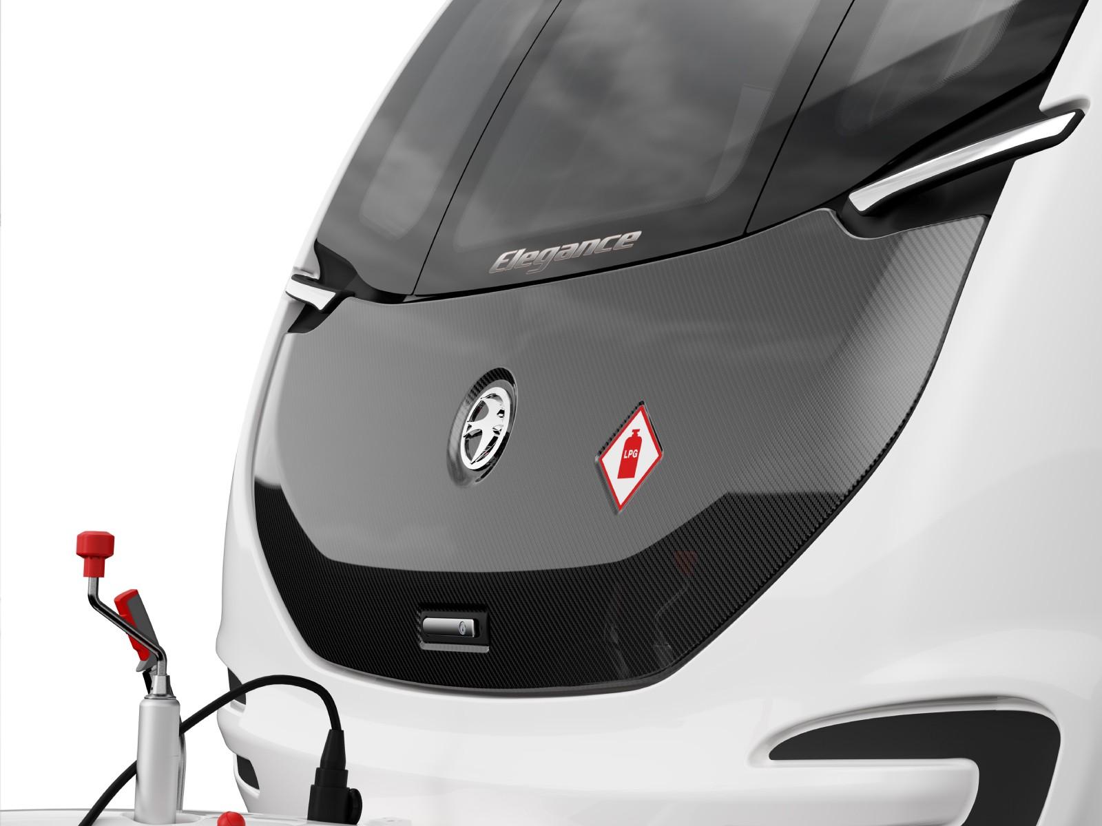 Swift Caravans Elegance External Front Image