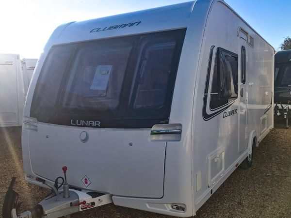 Lunar Clubman Si Used Caravans For Sale Image