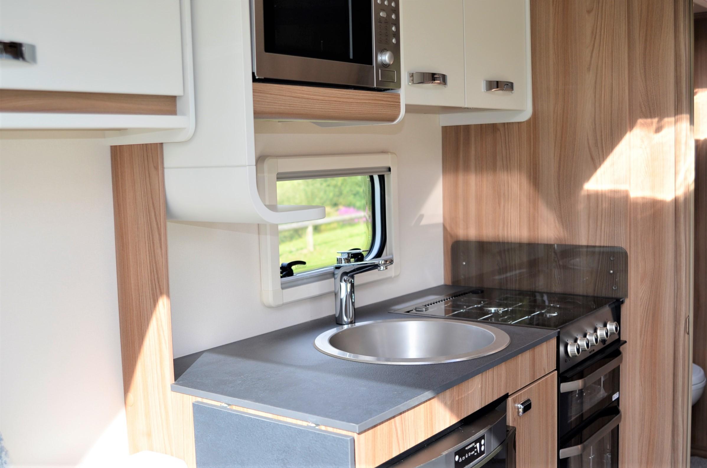 Swift Caravans Siena Kitchen Image