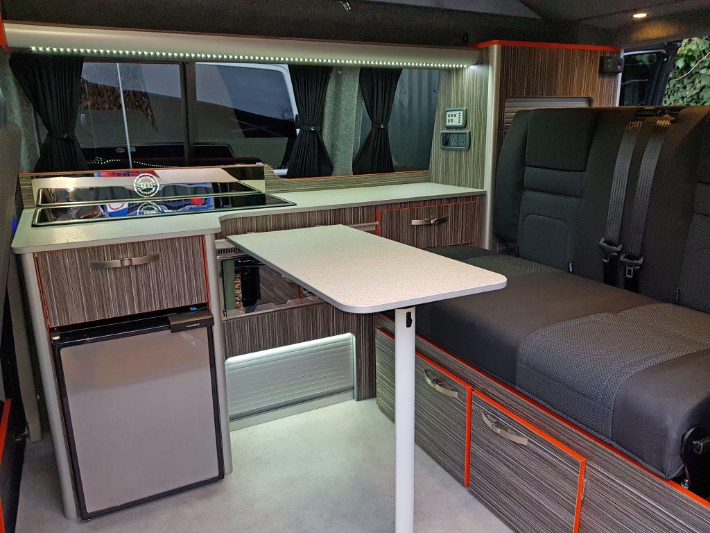 VW Camper Revolution Ricos Interior Table