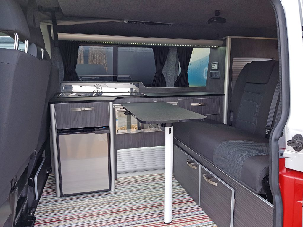 VW Volkswagen Camper Interior Table